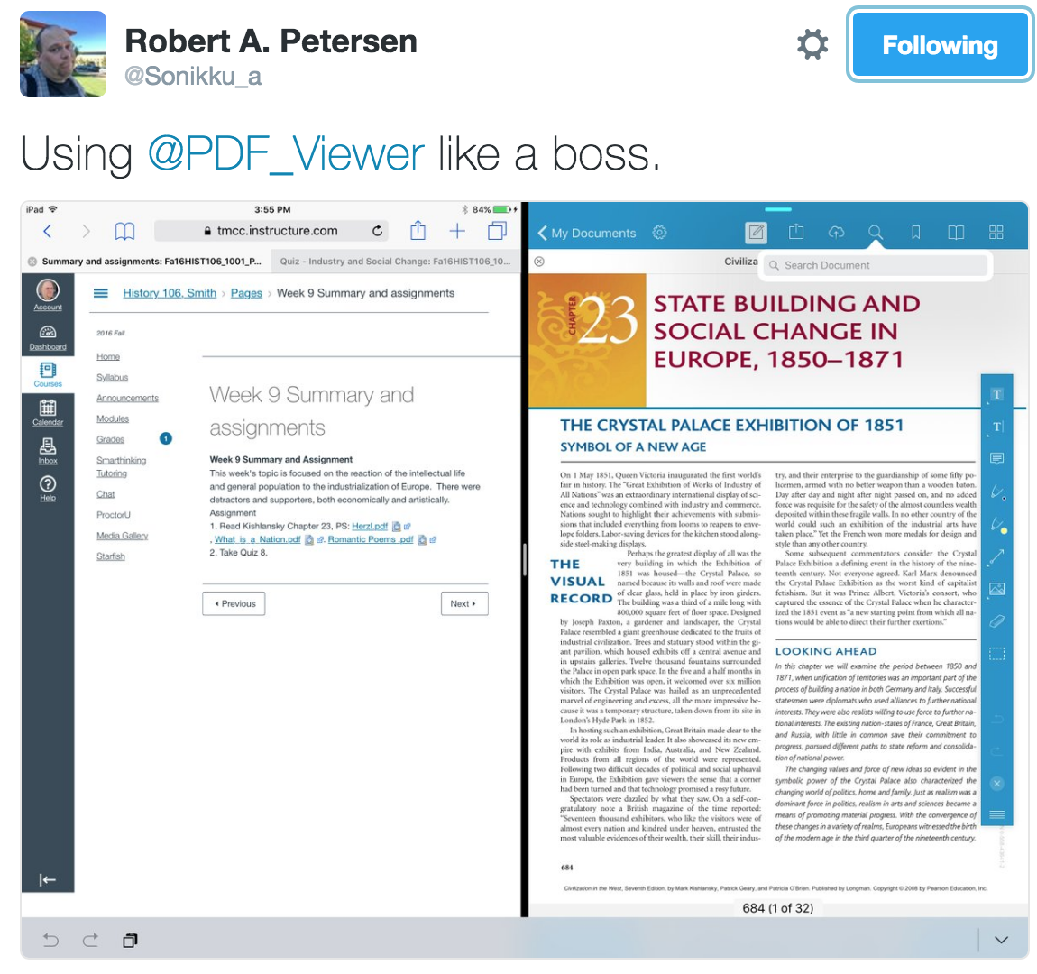 Qa How A Student Uses Pdf Viewer Pdf Viewer