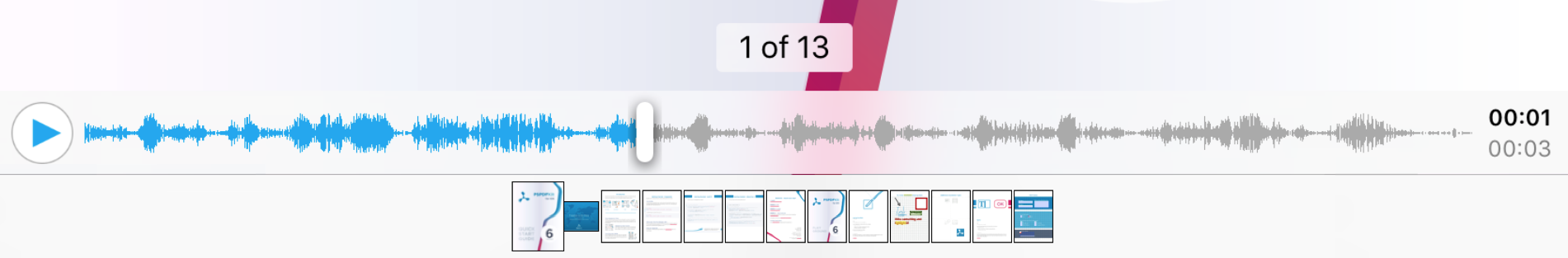Sound Annotation Player