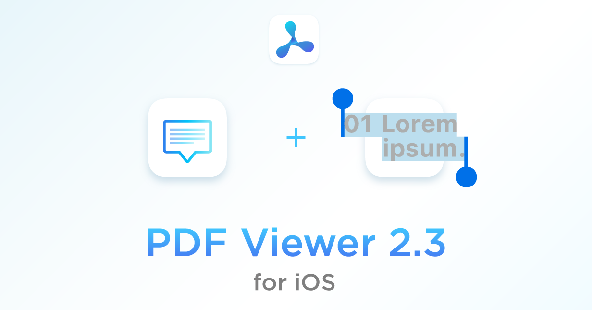 Pdf viewer 23 for ios pdf viewer pdf viewer 23 for ios features an updated design for the note editor making it look more modern better text selection especially related to speed ccuart Image collections