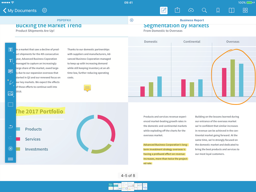 PDF Viewer for iOS & Android - Reading, Reviewing
